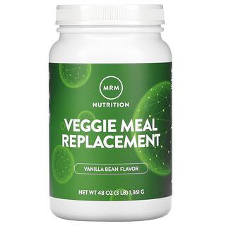 MRM, Vegetarischer Mahlzeiten-Ersatz,Vanilleschote, 3 lbs (1.361 g)