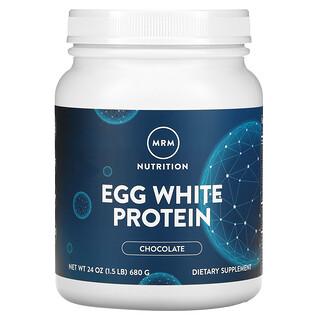 MRM, Proteína de clara de huevo, chocolate, 24 oz (680 g)
