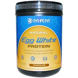 MRM, Natural Egg White Protein, Chocolate, 24 oz (680 g)