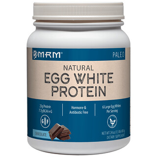MRM, Natural Egg White Protein, Chocolate, 24 oz (680 g)