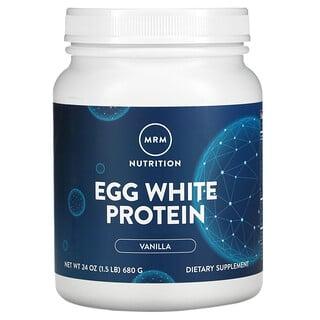 MRM, Egg White Protein, Vanilla, 1.5 lbs (680 g)