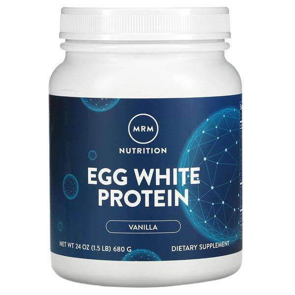Egg White Protein, Vanilla, 1.5 lbs (680 g)