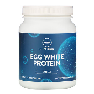 МРМ, Egg White Protein, Vanilla, 1.5 lbs (680 g) отзывы