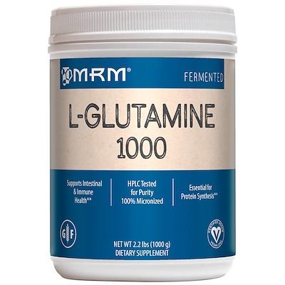 L-глутамин 1000, 2,2 фунта (1000 г)