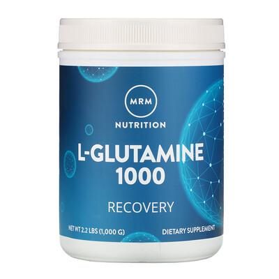 MRM L-глутамин 1000, 1000 г (2,2 фунта)