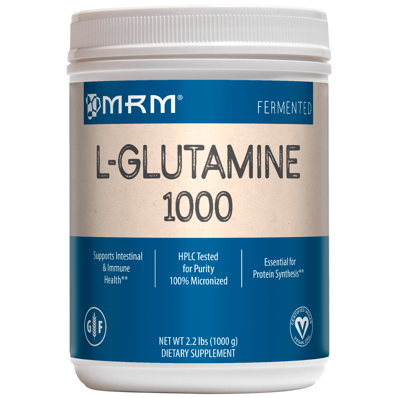 MRM, L-Glutamine 1000、2.2 lbs (1000 g)