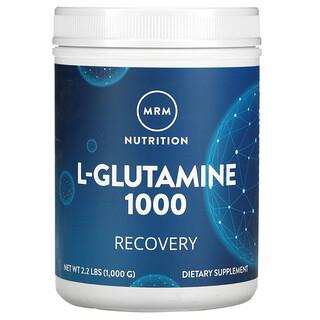 MRM, L-Glutamine 1000, 1000 g (2,2 lb)