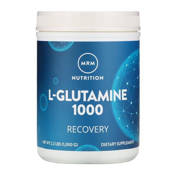 L-Glutamine 1000, 1000 g (2,2 lbs)