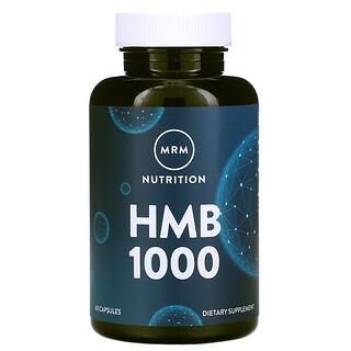 MRM, HMB 1000, 60 Capsules