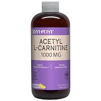 Ацетил L-карнитин, вкус лемонада, 1000 мг, 480 мл - фото