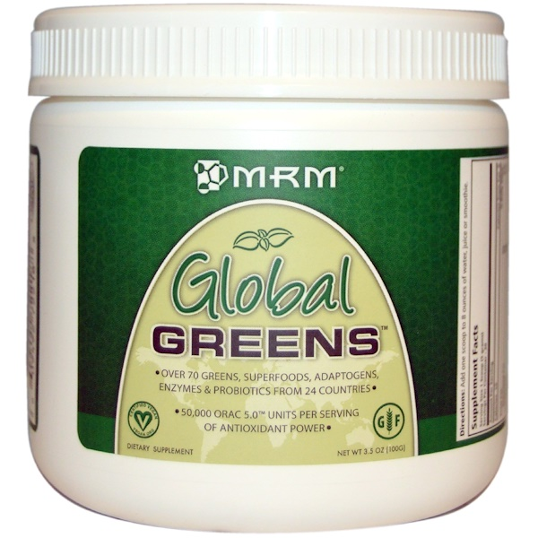 MRM, Global Greens, 3.5 oz (100 g)