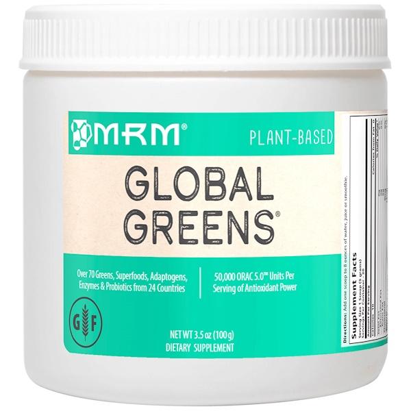 MRM, Global Greens, 3.5 oz (100 g) (Discontinued Item)