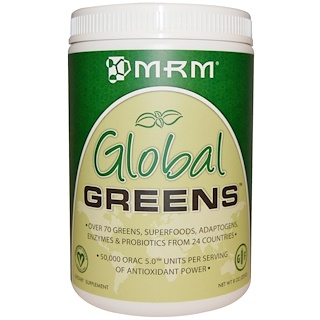 MRM, Global Greens, 8 oz (225 g)