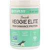 MRM, 스무드 Veggie Elite 퍼포먼스 단백질, 리치 바닐라, 170g(6oz)