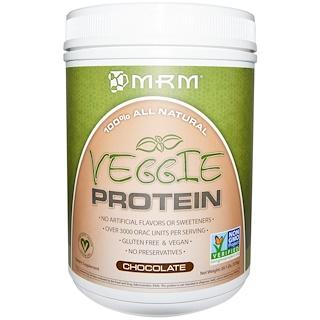 MRM, Veggie Protein, Chocolate, 20.1 oz (570 g)