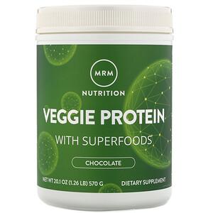 МРМ, Nutrition, Veggie Protein with Superfoods, Chocolate, 20.1 oz (570 g) отзывы покупателей