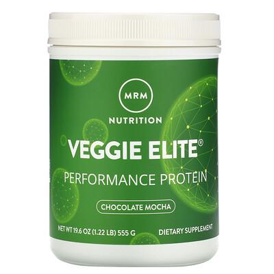 MRM Veggie Elite, Performance Protein, Chocolate Mocha, 1.22 lb (555 g)
