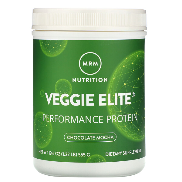 Veggie Elite, Performance Protein, Chocolate Mocha, 1.22 lb (555 g)
