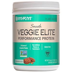 МРМ, Smooth Veggie Elite, Performance Protein, Cinnamon Bun, 18 oz (510 g) отзывы покупателей