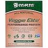 """MRM, """"Элитные овощи"""", растительный белковый комплекс для высокой производительности со вкусом плюшек с корицей, 10 пакетов, 12,0 унции (340 г)"""