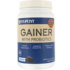 MRM, Gainer With Probiotics, Chocolate, 3.3 lbs. (1512 g)