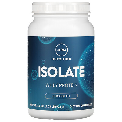 MRM Isolate Whey Protein, Chocolate , 2.03 lb (922 g)