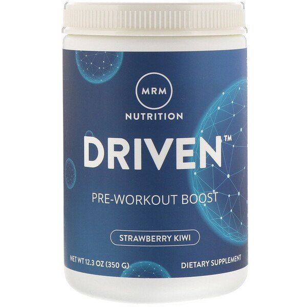 DRIVEN, Pre-Workout Boost, Strawberry Kiwi, 12.3 oz (350 g)