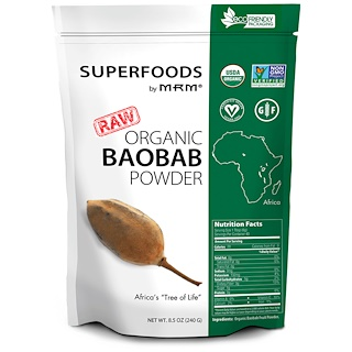 MRM, Organic Baobab Powder, 8.5 oz (240 g)