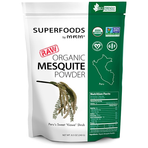 MRM, Organic Mesquite Powder, 8.5 oz (240 g) (Discontinued Item)