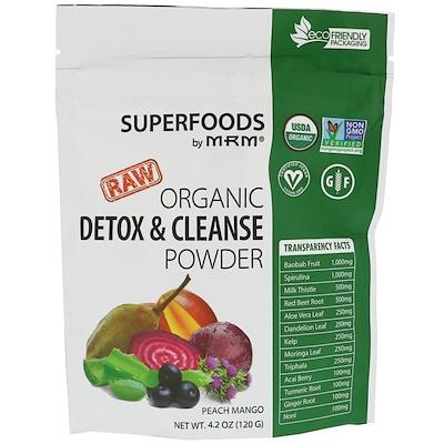 Купить Organic Detox & Cleanse Powder, 4.2 oz (120 g)