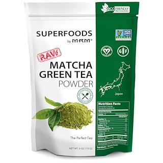 MRM, RAW抹茶緑茶パウダー、6オンス(170g)