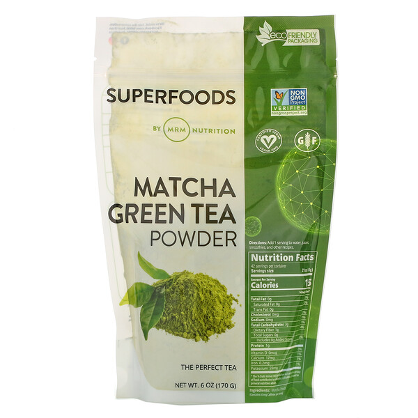 MRM, Matcha Green Tea Powder, 6 oz (170 g)