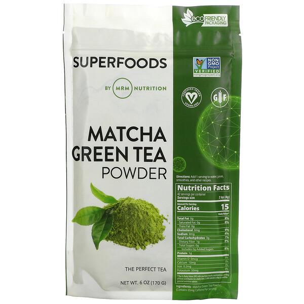 Matcha Green Tea Powder, 6 oz (170 g)