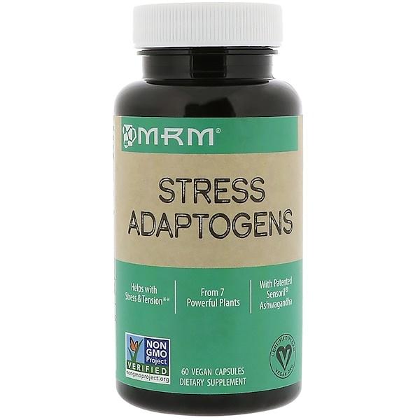 MRM, Stress Adaptogens , 60 Vegan Capsules