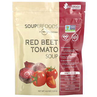 MRM, Souperfoods, Red Beet Tomato Soup, 4.2 oz (120 g)