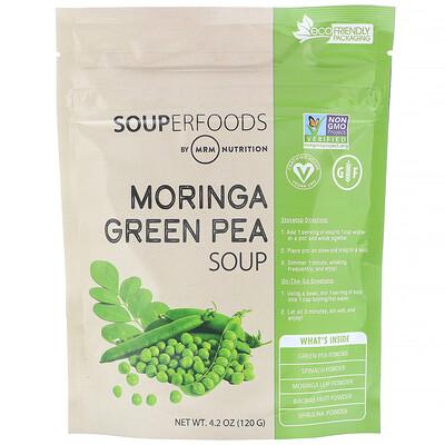 Купить MRM Суперпродукты, суп из моринги и зеленого горошка, 120г (4, 2унции)