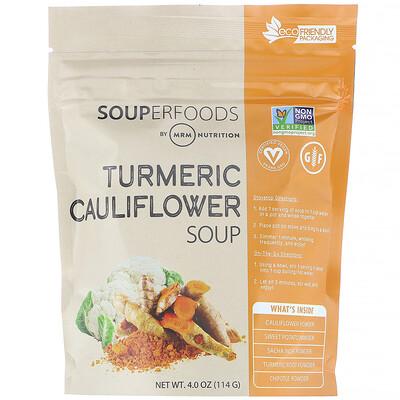 Купить MRM Суперпродукты, суп из цветной капусты с добавлением куркумы, 114г (4, 0унции)