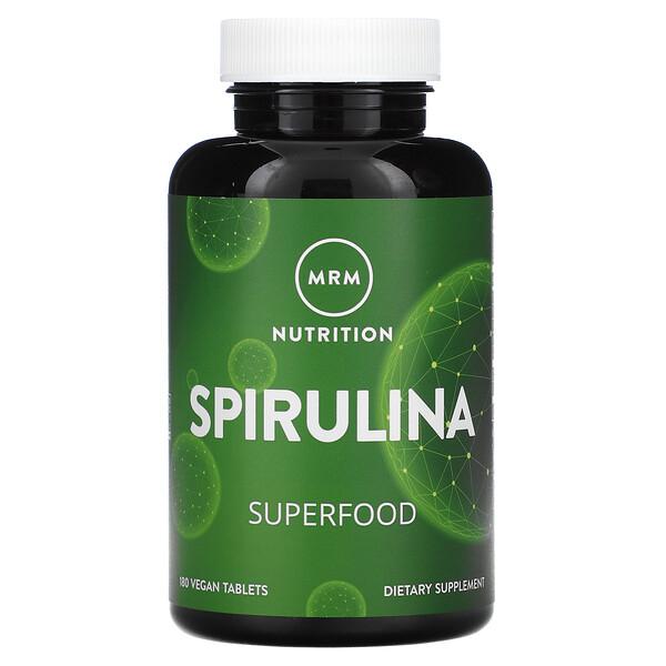 Spirulina, 180 Vegan Tablets