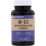 Отзывы о MRM, B-12, метилкобаламин, 2 000 мкг, 60 веганских леденцов