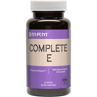 MRM, Complete E, 60 Softgels
