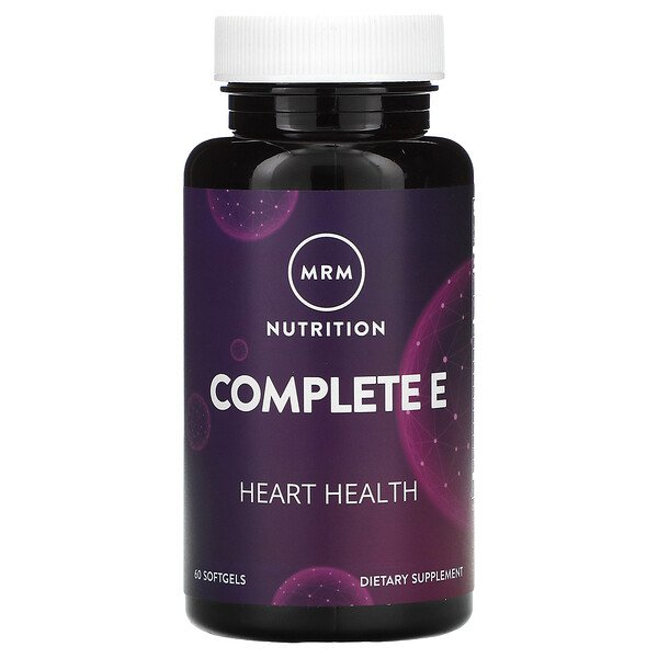 Nutrition, Complete E, 60 Softgels
