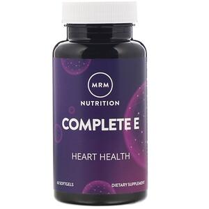 МРМ, Nutrition, Complete E, 60 Softgels отзывы покупателей