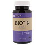 Отзывы о MRM, Биотин, 5 мг, 60 вегетарианских капсул
