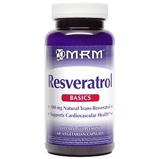 MRM, Resveratrol, 60 Veggie Caps