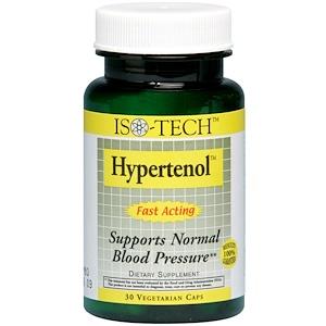 МРМ, Iso-Tech, Hypertenol, 30 Veggie Caps отзывы