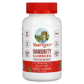MaryRuth Organics, Immunity Gummies, Cherry, 90 Gummies