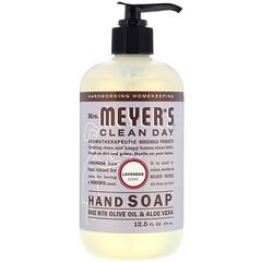 Mrs. Meyers Clean Day, 洗手液,薰衣花草香味,12.5 液量盎司(370 毫升)