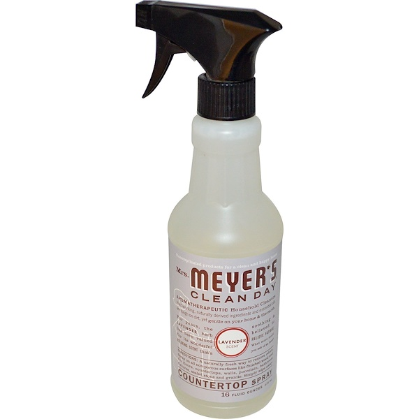 Mrs. Meyers Clean Day, Countertop Spray, Lavender Scent, 16 fl oz (473 ml) (Discontinued Item)