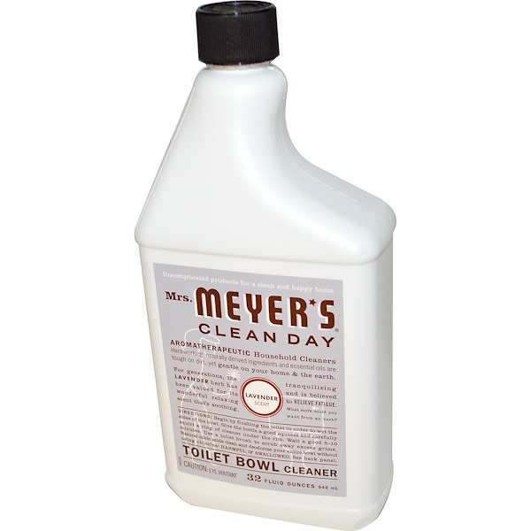 Mrs. Meyers Clean Day, Toilet Bowl Cleaner, Lavender Scent, 32 fl oz (946 ml) (Discontinued Item)