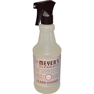 Mrs. Meyers Clean Day, Glass Cleaner, Lavender Scent, 24 fl oz (708 ml)